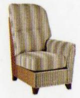 della left hand arm chair section